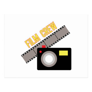 Film Crew Postcard