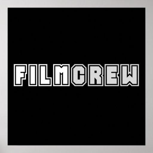 Film Crew Print