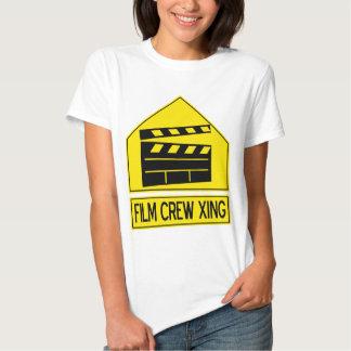Film Crew Xing T Shirts