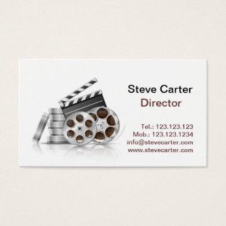 Film Director Camera Screwdriver Actor Cinema Business Card