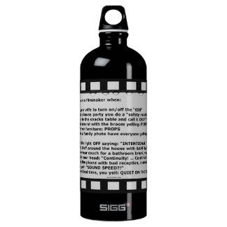 film motto movie reel script actor crew SIGG traveller 1.0L water bottle