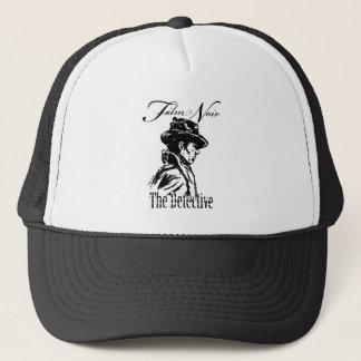 Film Noir Detective Trucker Hat
