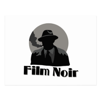Film Noir Postcard