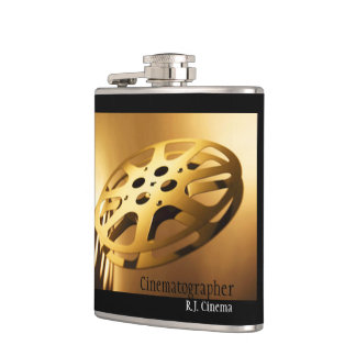 Film Reel Flask Flask