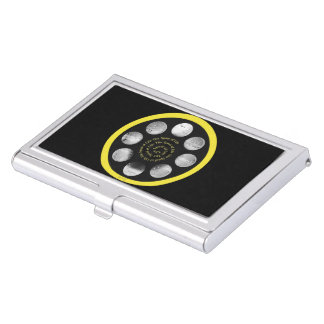 "Film Spool Card Holder -""The Spiral Spool of Life"""