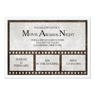 Film Strip Invitation