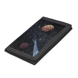 FINAL FRONTIERS design 1 wallets Tri-fold Wallets