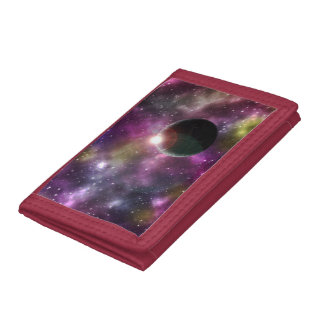 FINAL FRONTIERS - NEW WORLDS (outer space) ~ Tri-fold Wallets