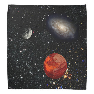 FINAL FRONTIERS (outer space design 11) ~ Head Kerchief