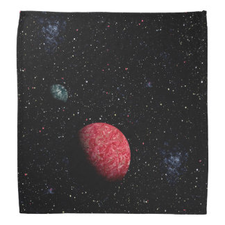 FINAL FRONTIERS outer space design 13 Bandanna
