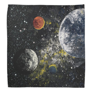 FINAL FRONTIERS (outer space design 3) ~ Bandana
