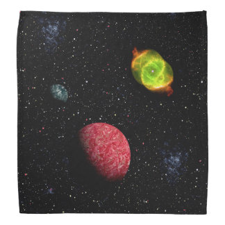FINAL FRONTIERS (outer space design 4) ~ Bandana