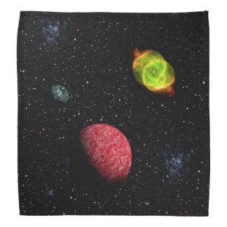 FINAL FRONTIERS (outer space design 4) ~ Kerchiefs