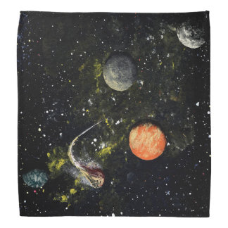FINAL FRONTIERS (outer space design 5) ~ Bandana