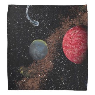 FINAL FRONTIERS (outer space design 7) ~ Bandana