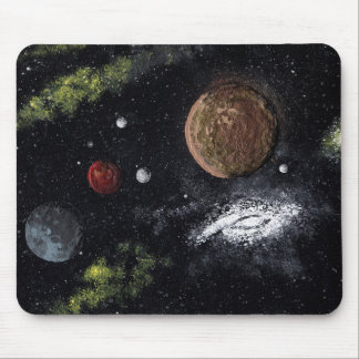 Final Frontiers space design 2 Mouse Pads