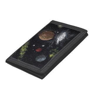 Final Frontiers space design 2 Wallet
