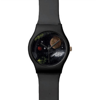 Final Frontiers (space design 2) ~ Wrist Watches