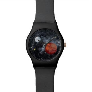 FINAL FRONTIERS (space design 3) ~ Wristwatch