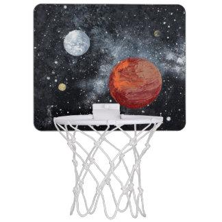 FINAL FRONTIERS space design 3 Mini Basketball Hoop