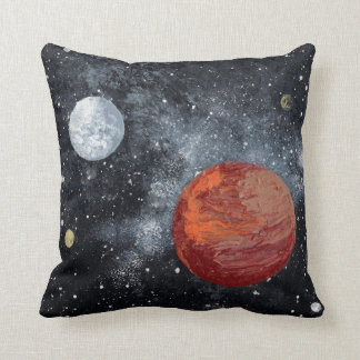FINAL FRONTIERS space design 3 Throw Pillow