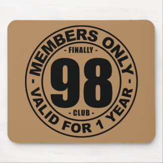 Finally 98 club mouse pad
