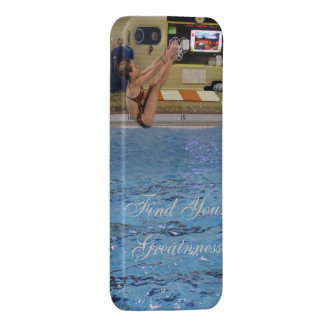 Find Your Greatness- Diver iPhone 5/5S Cover