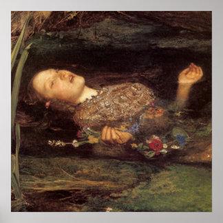 Fine art Ophelia painting Print