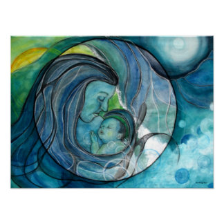 """Fine Art Print: """"Makuahine-Mother"""" Poster"""