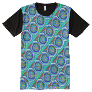 FineArt Graphics Patterns abstract antennas All-Over Print T-Shirt