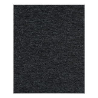 Finely Knit Charcoal Merino Wool Texture Photo Print