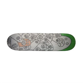 finger monsters 21.6 cm old school skateboard deck