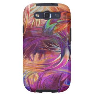 Finger paint galaxy s3 cases