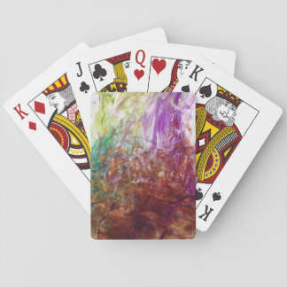 Finger Paint Fun Playing Cards