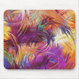 Finger paint mouse pad