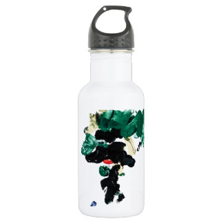 Finger Paint World Map 532 Ml Water Bottle