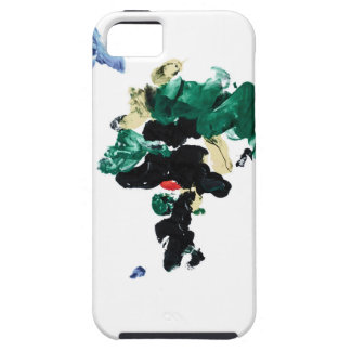 Finger Paint World Map iPhone 5 Cover