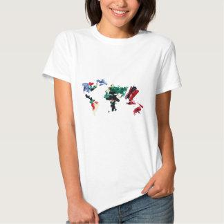 Finger Paint World Map T-shirt