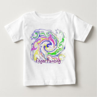 Finger Painting Baby T-Shirt