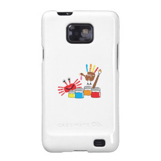 Finger Painting Galaxy S2 Cover