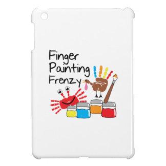 Finger Painting iPad Mini Cover