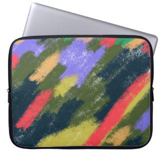 Finger Painting Neoprene Laptop Sleeve