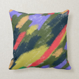 Finger Painting Pillow Throw Cushions