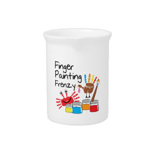 Finger Painting Pitcher