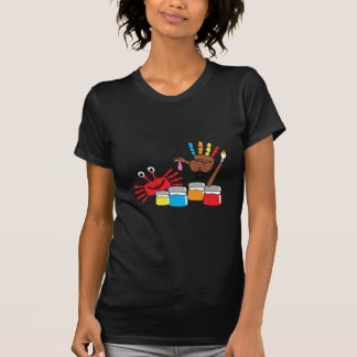 Finger Painting T Shirt
