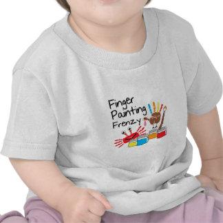Finger Painting Tshirt