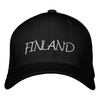Finland Embroidered Baseball Caps
