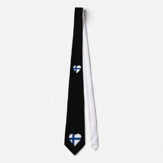 Finland Finnish flag: ADD TEXT Tie