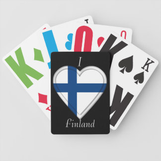 Finland Finnish flag Poker Deck