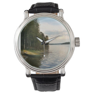Finland Lake Wristwatch